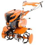 Cumpara ieftin Motocultor Ruris 701Ks, 7 CP, 83 cm, 4 timpi, roti cauciuc, plug reversibil, roti metalice 400