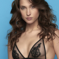 Sutien Perilla Floral Black Bralette