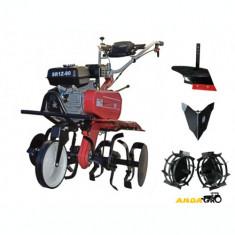 Motocultor  SR1Z-80 - Transmisie Fonta, Roti Metalice, Rarita Fixa, Plug Arat