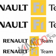 Stickere Renault F1 Team - Set