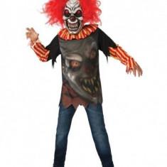 Costum carnaval pentru copii Clovn Infricosator, 5 ani+, marimea L