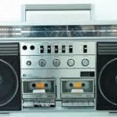 Dublu Radio Casetofon Sankei TCR - S 90 Vintage Model Rar Deosebit