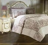 Cumpara ieftin Cuvertură de pat Valentini Bianco Piquet, model Laura