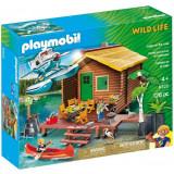 Cumpara ieftin Set de joaca Playmobil, Casuta De Lemn Pe Lac