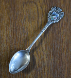 Lingurita din Argint 835 - Wuppertal Germania / 11 grame, Tacamuri