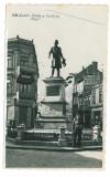 448 - GALATI, statue Costache Negri, Romania - old PC, real Photo - unused 1941, Necirculata, Fotografie
