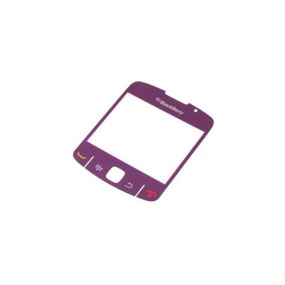 Geam display blackberry 8520 mov inchis (set 2 buc) orig swap