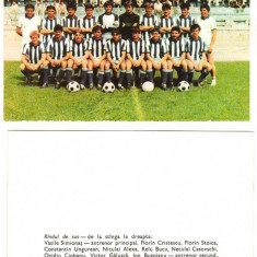 SV * Echipa de Fotbal  C.S.M. SUCEAVA  *  Prima Promovare in Divizia A  *  1987, Circulata, Necirculata, Fotografie, Printata