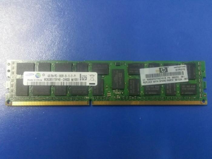 Memorie server 4GB diverse modele DDR3 2Rx4 PC3-10600R