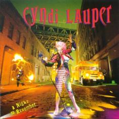 Cyndi Lauper - A Night To Remember (LP - Germania - VG)