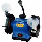 Cumpara ieftin Polizor de banc dublu cu functie de polizare si slefuire SM200AL Scheppach SCH5903110901, 500 W, O200 mm