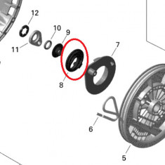 Opritor cuplaj pornire Ski-Doo Summit X 800RETEC XM T3-154, 2015 Cod Produs: MX_NEW 420852640SK