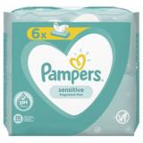 Servetele umede Pampers Sensitive (6x52 buc)