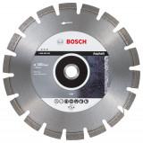 Bosch Best disc diamantat 300x25.4x12 mm pentru asfalt