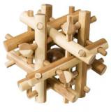 Cumpara ieftin Joc logic IQ din lemn bambus Magic sticks