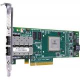 Placa de retea server Dell QLE8152 FE0210401-25 10GB PCI-E Dual Port HBA Full Height