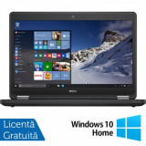 Laptop DELL Latitude E5470, Intel Core i5-6200U 2.30GHz, 8GB DDR4, 240GB SSD, 14 Inch, Webcam + Windows 10 Home