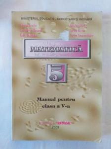 Matematica - Manual pentru clasa a V-a - Editura Radical 2004