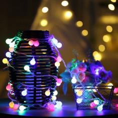 Instalatie de Craciun cu Baterii 2.5 m 20 LED -uri Globuri Multicolor