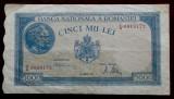 ROMANIA 5000 5.000 LEI 21 AUGUST 1945 **