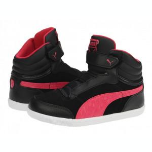 Adidasi ghete copii Puma Glyde court V Kids black-virtual-pink 35527401