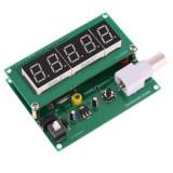 FRECVENTMETRU ptr. masurarea FRECVENTEI de la 1hz- 50Mhz