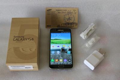 Samsung Galaxy S5 16GB Negru SM-G900F foto