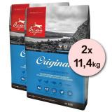 Cumpara ieftin ORIJEN Original 2 x 11,4kg