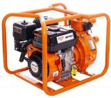 Motopompa presiune Ruris MP90, 7 CP, 212 CC, 4 timpi, 30 mc/h debit maxim, 65 m adancime refulare, 3.6 l, benzina (Portocaliu/Negru)
