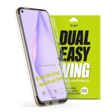 Cumpara ieftin Folie Huawei P40 Lite Ringke Dual Easy Full Cover 2 Pack Clear