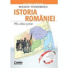 Istoria României. Mic atlas școlar