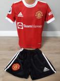 Echipament fotbal pentru copii Manchester United Rashford marimea 140