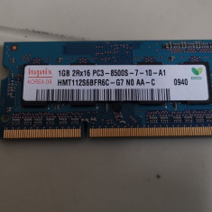 Ram LAptop hynix 1GB DDR3 PC3-8500S HMT112S6BFR6C-G7