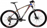 Bicicleta Mtb Devron Riddle R7.7 L 495 mm Race Black 27.5 inch
