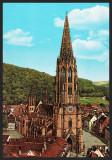 GERMANIA - FREIBURG IM BREISGAU - MUNSTER - CP CIRCULATA #colectosfera