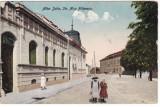 #2408 Romania, Alba Iulia carte postala 1925, circul. 1950: Str. Nicu Filipescu