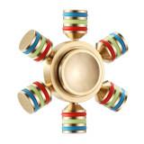 Cumpara ieftin Fidget Spinner Profesional Metalic Otel iUni SM1, Ultrarapid