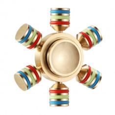 Fidget Spinner Profesional Metalic Otel iUni SM1, Ultrarapid