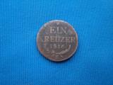 EIN KREUZER 1816/E -ALBA IULIA TRANSILVANIA-RARA, Europa