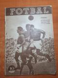 Revista fotbal octombrie 1957-CCA,progresul,dinamo bucuresti,dinamo cluj