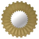 Oglinda Signature, melamina, auriu, dimensiuni 51 x 3 cm
