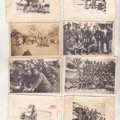 bnk foto - Lot fotografii aviatie aviatori  armata WW II 1940 -1944 Romania