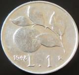 Moneda 1 LIRA - ITALIA, anul 1948 *cod 5041, Europa