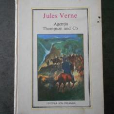 JULES VERNE - AGENTIA THOMPSON AND CO (Editura Ion Creanga)