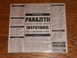 Parazitii - Irefutabil (digipak)