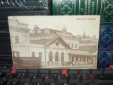 CARTE POSTALA * GARA DIN TIGHINA , 1927, Necirculata, Fotografie