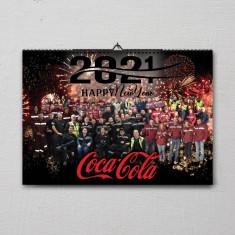 Calendare personalizate de perete, de birou & de buzunar, design meniuri