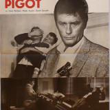"""Afisul filmului """"Afacerea Pigot"""" cu Alain Delon, Anne Parillaud, Michel Auclair"""