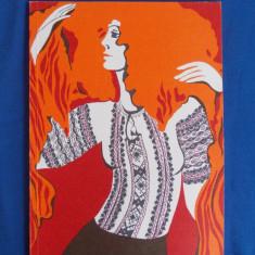 BLUZE TRADITIONALE ROMANESTI ( ALBUM ) , EDITAT DE UCECOM , PERIOADA COMUNISTA