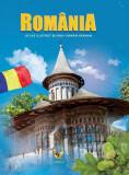 Romania. Atlas ilustrat bilingv român-german